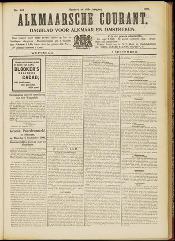 Alkmaarsche Courant 1909-09-01