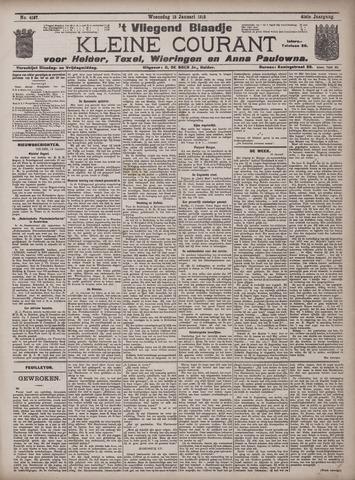Vliegend blaadje : nieuws- en advertentiebode voor Den Helder 1913-01-15