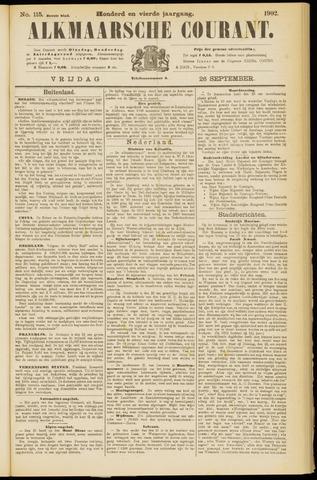 Alkmaarsche Courant 1902-09-26