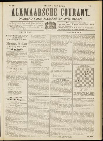 Alkmaarsche Courant 1908-11-07