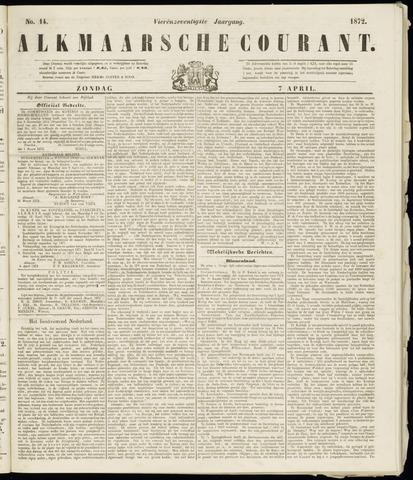 Alkmaarsche Courant 1872-04-07
