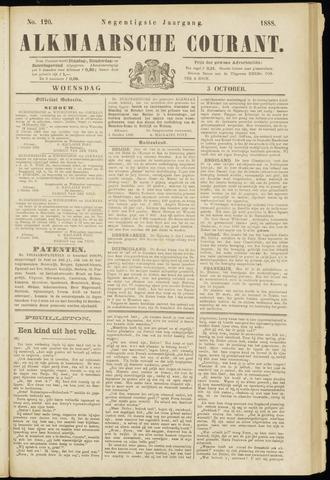 Alkmaarsche Courant 1888-10-03