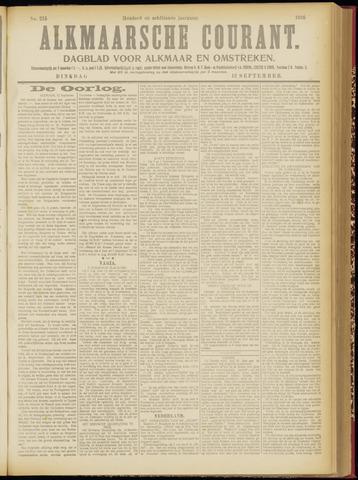 Alkmaarsche Courant 1916-09-12