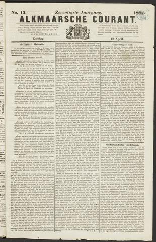 Alkmaarsche Courant 1868-04-12
