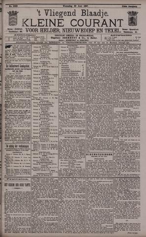 Vliegend blaadje : nieuws- en advertentiebode voor Den Helder 1897-06-30