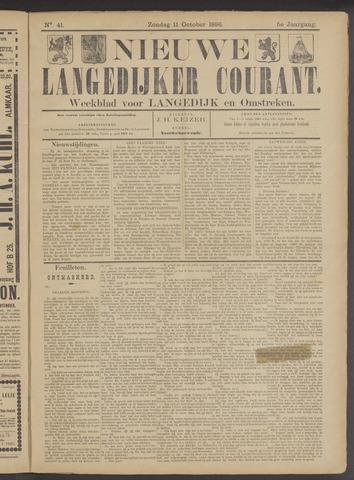 Nieuwe Langedijker Courant 1896-10-11