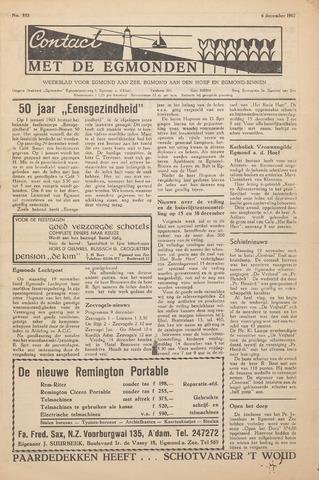 Contact met de Egmonden 1962-12-06