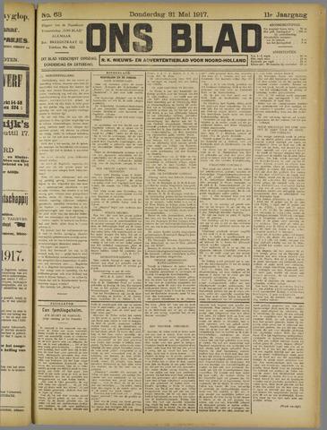 Ons Blad : katholiek nieuwsblad voor N-H 1917-05-31