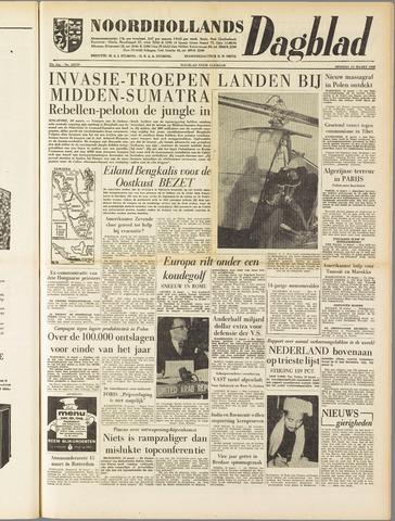 Noordhollands Dagblad : dagblad voor Alkmaar en omgeving 1958-03-11