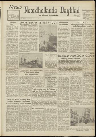 Nieuw Noordhollandsch Dagblad : voor Alkmaar en omgeving 1948-03-01