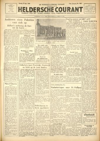 Heldersche Courant 1947-09-30