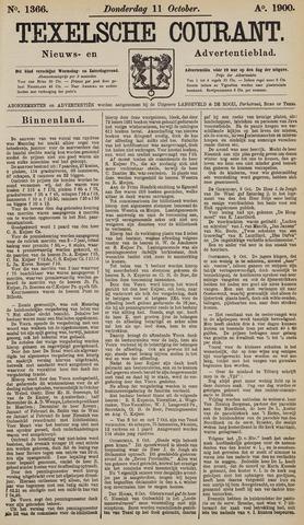 Texelsche Courant 1900-10-11