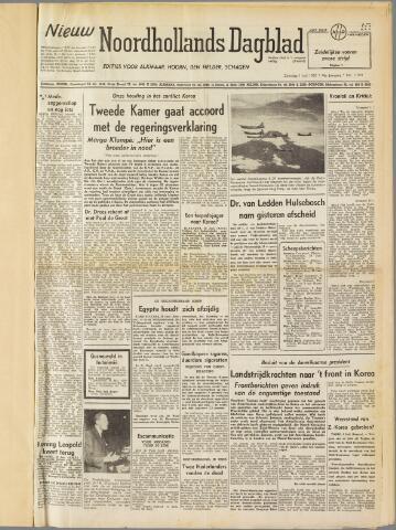 Nieuw Noordhollandsch Dagblad : voor Alkmaar en omgeving 1950-07-01