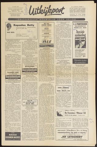 Uitkijkpost : nieuwsblad voor Heiloo e.o. 1970-04-29