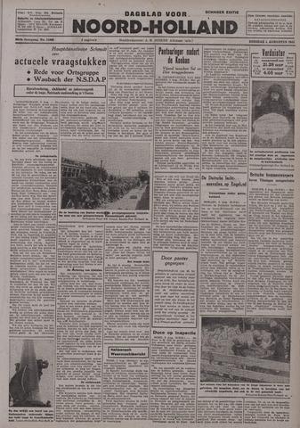 Dagblad Noord-Holland, Schager editie 1942-08-04