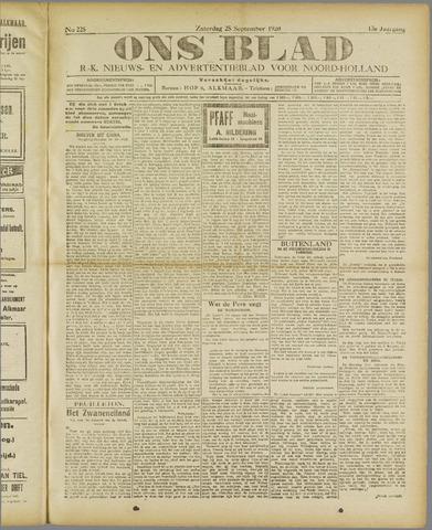 Ons Blad : katholiek nieuwsblad voor N-H 1920-09-25