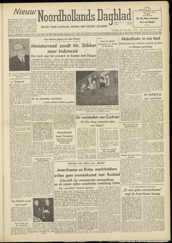 Nieuw Noordhollandsch Dagblad : voor Alkmaar en omgeving 1948-10-29