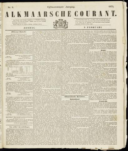 Alkmaarsche Courant 1873-02-09