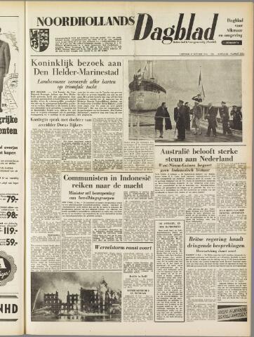 Noordhollands Dagblad : dagblad voor Alkmaar en omgeving 1954-10-16