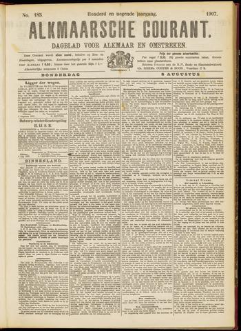 Alkmaarsche Courant 1907-08-08