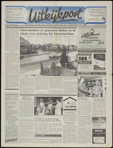 Uitkijkpost : nieuwsblad voor Heiloo e.o. 1993-11-17