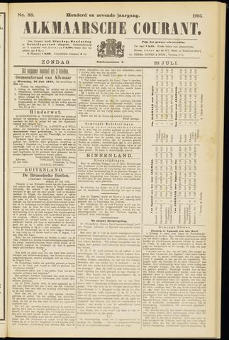 Alkmaarsche Courant 1905-07-23