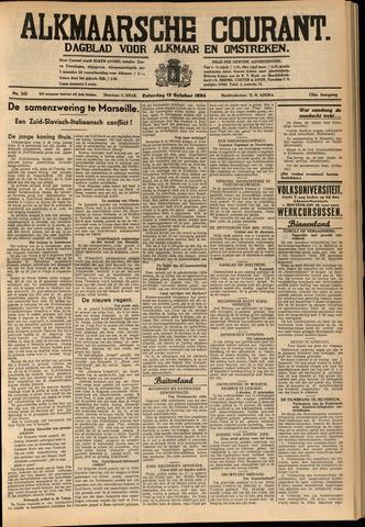 Alkmaarsche Courant 1934-10-13