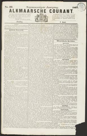 Alkmaarsche Courant 1867-06-02