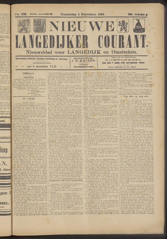 Nieuwe Langedijker Courant 1924-09-04