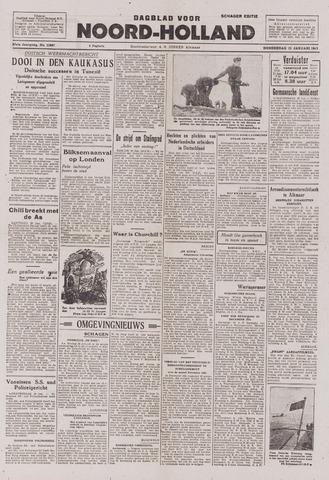 Dagblad Noord-Holland, Schager editie 1943-01-21