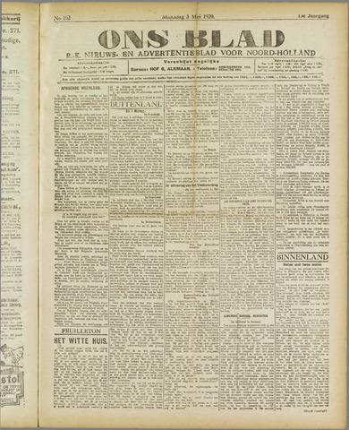 Ons Blad : katholiek nieuwsblad voor N-H 1920-05-03