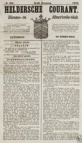 Heldersche Courant 1866-02-10