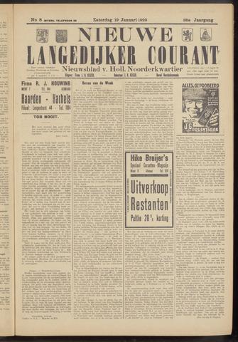 Nieuwe Langedijker Courant 1929-01-19