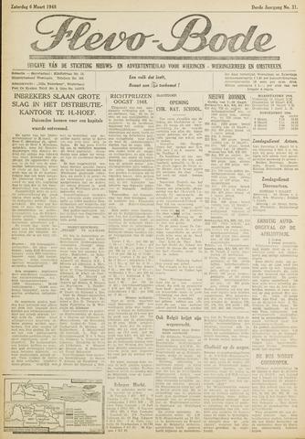 Flevo-bode: nieuwsblad voor Wieringen-Wieringermeer 1948-03-06