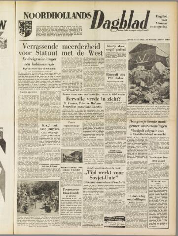 Noordhollands Dagblad : dagblad voor Alkmaar en omgeving 1954-07-17