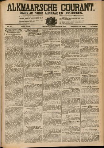 Alkmaarsche Courant 1930-09-12
