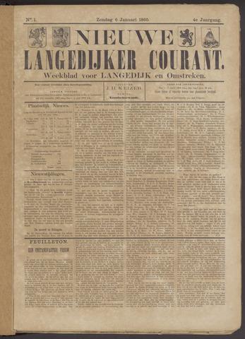 Nieuwe Langedijker Courant 1895-01-06