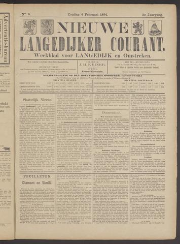 Nieuwe Langedijker Courant 1894-02-04