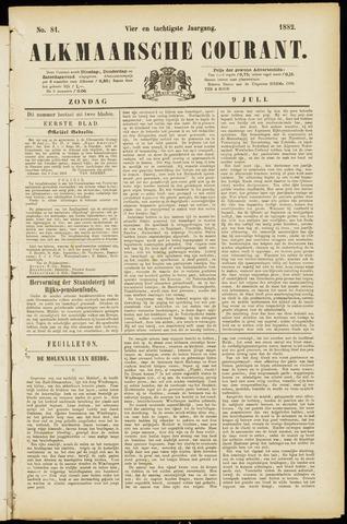 Alkmaarsche Courant 1882-07-09