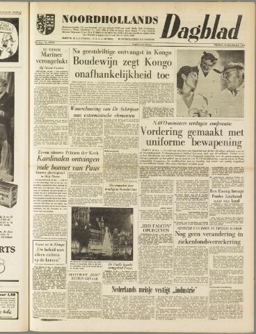 Noordhollands Dagblad : dagblad voor Alkmaar en omgeving 1959-12-18