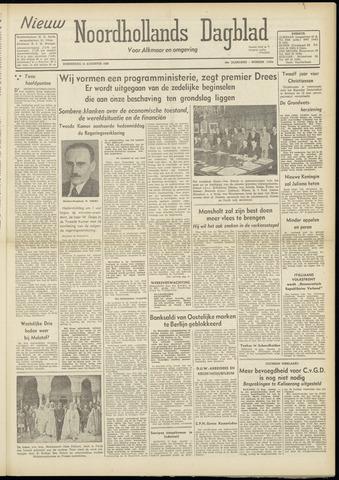 Nieuw Noordhollandsch Dagblad : voor Alkmaar en omgeving 1948-08-12