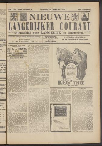 Nieuwe Langedijker Courant 1925-12-19