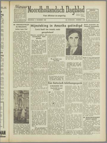 Nieuw Noordhollandsch Dagblad : voor Alkmaar en omgeving 1946-12-09