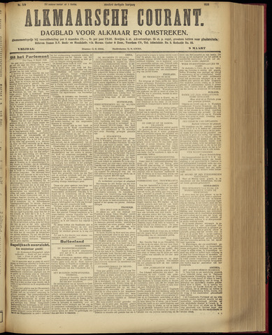 Alkmaarsche Courant 1928-03-09