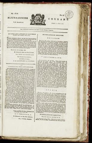 Alkmaarsche Courant 1818-07-06