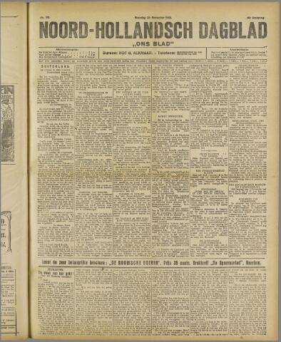 Ons Blad : katholiek nieuwsblad voor N-H 1922-11-20