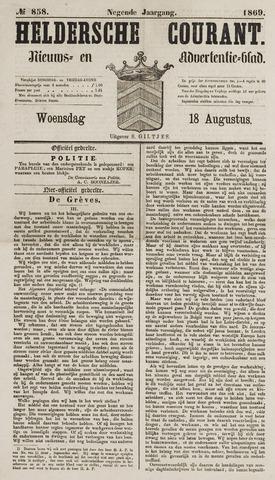 Heldersche Courant 1869-08-18
