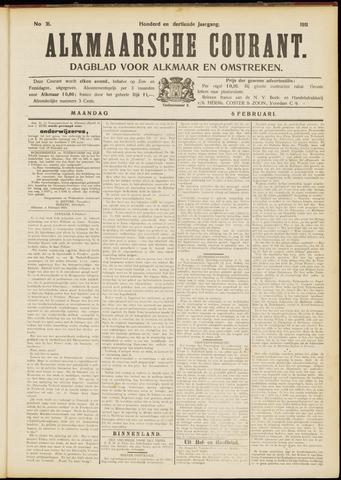 Alkmaarsche Courant 1911-02-06