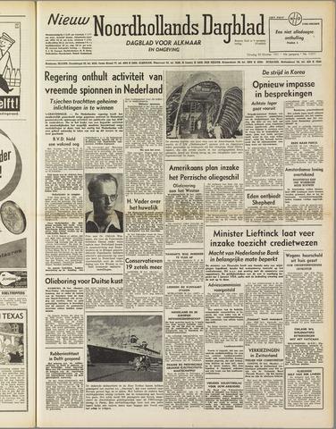 Nieuw Noordhollandsch Dagblad : voor Alkmaar en omgeving 1951-10-30