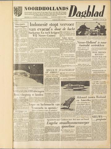 Noordhollands Dagblad : dagblad voor Alkmaar en omgeving 1958-01-02